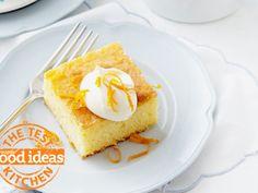 Crunchy-topped Orange Slice