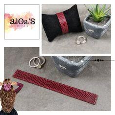 Bracelet montre Poiray cuir karung - Aloa'S créations Straw Bag, Creations, Bags, Fashion, Bracelet Making, Bracelet Watch, Bead, Leather, Handbags
