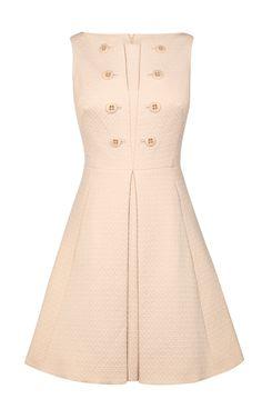 Платье с пуговицами