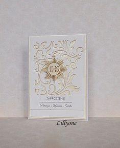 Art by Lillyone: Zaproszenia z ażurem.