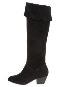 Bertie  SANDIE - Overknee laarzen - Zwart  € 184,95