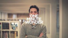One Minute Wonder 10 by Present Plus. Harald Dunnink is a half Dutch, half German digital creative director and founder of the award winning digital creative agency; Momkai. He has been creating beautifully simple, yet complex designs and digital destinations since 2002. This is Harald.