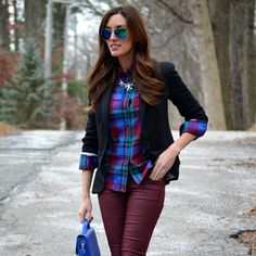 50 Cute Flannel Outfit Ideas for Fall 2014