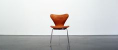 Arne Jacobsen, 3107 cognac, Fritz Hansen,  SOLD TO NYC
