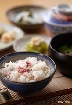 Japanese food / 桜ご飯