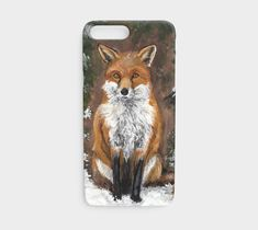 Red Fox - Iphone iPhone 7 / 8 by Mary Ann Gonneau. Artwork printed on Lexan plastic iPhone 7 case with embedded print, UV and scratch resistant finish Red Fox, Iphone 7 Cases, Artwork Prints, Ann, Arts And Crafts, Artist, Red Tail Fox, Gift Crafts, Art And Craft