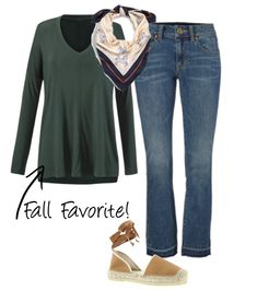 Mix Spring cabi back to fall favorites! Shop the collection now at sabrinasusini.cabionline.com Chill Tee, Gallop Scarf, Kick It Crop