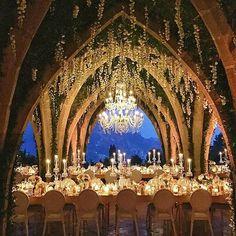 Beautiful wedding reception in Ravello, Italy by #sugokuiievents. #josevilla.