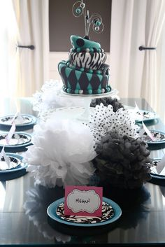 The Yellow Cape Cod: My Daughters Birthday Party~Designed Online