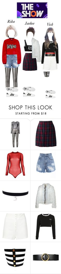 """The Show - ""Move On"" by starz-official on Polyvore featuring moda, Ann Demeulemeester, Lands' End, Topshop, Retrò, Calvin Klein Collection, adidas e STELLA McCARTNEY"
