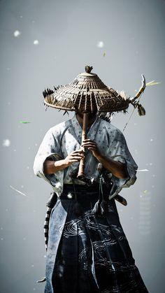 Japanese Drawings, Japanese Art, Samurai Wallpaper, Japon Tokyo, Samurai Artwork, Japanese Warrior, Ghost Of Tsushima, Poster S, Drawing People