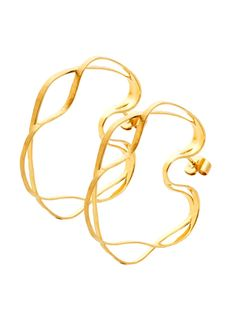 H.Stern Oscar Niemeyer Squiggle Hoop Earrings at London Jewelers!