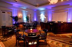 Planner: DBB Events, Photographer: Indigo Photography, Projection and lighting: Wink Lighting, Rentals: Party Reflections