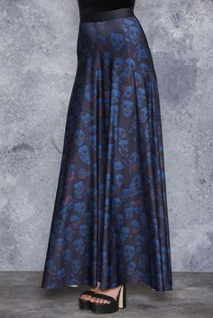Zombie Invisible Maxi Skirt - LIMITED ($120AUD) by BlackMilk Clothing