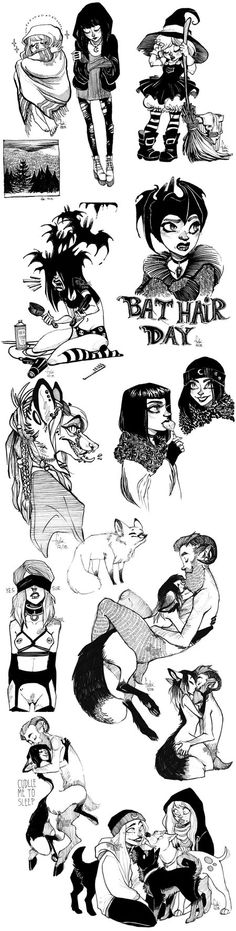 sketch dump by Fukari on DeviantArt