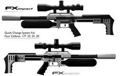An Air Gun with AR style: the FX Impact | Prep-Blog.com