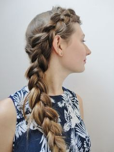 Half Crown Dutchbraid