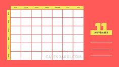 Blank Fillable Calendar Free : Welcome we say to all of you who are looking for a blank fillable calendar. Below we provide some examples of fillable calendars that we made with a simple design but very easy for the eye to see. School Plan, School Schedule, Fillable Calendar, Cute Calendar, Blank Calendar Template, Simple Designs, Printables, Good Things, Templates