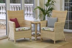 Alto , Chair, Table , Cushion Fabric - Rosetti with optional Raspberry & Archer scatter cushions
