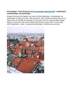 Få direkte adgang til ledige boliger i danmark