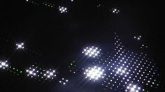 Animated LED lighting display using RGB LED  http://www.lnlo.net/