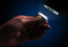 #Technology - CordLite Illuminated Dock Connector Cable #geek