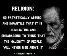 Sad for this and all the suffering and loss of life caused by religion, as well as all the lost progress and innovation trapping in stunted minds and decried as heathen. | #Atheist #Religion