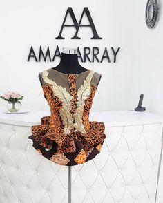 African Wedding Attire, African Attire, African Wear, African Dress, African Blouses, African Tops, Ankara Peplum Tops, Ankara Dress, African Prom Dresses