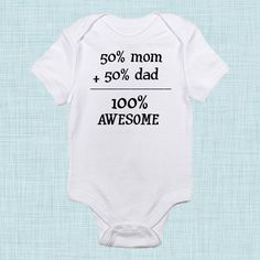 Awesome Funny Baby Clothes Baby Shower Gift Gender by BabeeBees, $15.00