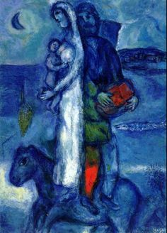 Fishermans Family - Marc Chagall#Repin By:Pinterest++ for iPad#