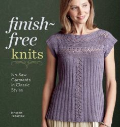 Finish-Free Knits autographed by author Kristen TenDyke $24.95