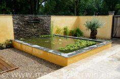Tuinen Nederland Mediterrane tuin Verhoogde vijver Design: Karin vd Hoven J. de…