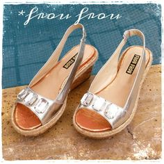 Petra silver sandals - www.froufroushoes.com - shop on line - shipping worldwide -♡♥