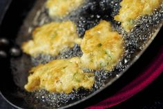 Fishy fritters: Puerto Rican bacalaitos (salt cod fritters)