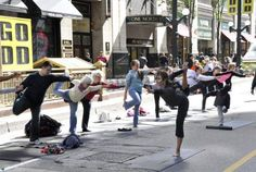 Open Streets Chicago- yoga