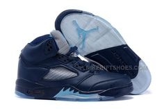 "0c6a81f13a9a 2015 Air Jordan 5 ""Hornets"" Midnight Navy Turquoise Blue-White For Sale"