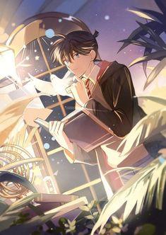 Active community for DC and MK fans Anime Chibi, Manga Anime, Anime Art, Manga Detective Conan, Detective Conan Shinichi, Detektif Conan, Conan Comics, Magic Kaito, Happy Tree Friends