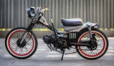 what to do with a Honda (Postie bike) - Today Pin Honda Bikes, Honda Motorcycles, Custom Motorcycles, Custom Bikes, Moto Bike, Motorcycle Art, Moped Scooter, Vespa, Scooter Custom