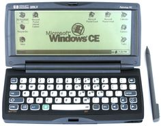Hewlett Packard HP 320LX Palmtop Computer (1997) -- I had one of these. Traded for a Palm Pilot...