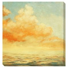 Morning Delight Oversized Gallery Wrapped Canvas