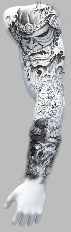 Tattoo leg piece sleeve Ideas for 2019 Tattoo leg piece sleeve Ideas fo. - Tattoo leg piece sleeve Ideas for 2019 Tattoo leg piece sleeve Ideas for 2019 T - Badass Tattoos, Fake Tattoos, Trendy Tattoos, Couple Tattoos, Leg Tattoos, Body Art Tattoos, Tattoos For Guys, Tattoo Arm, Temporary Tattoos