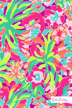 Lilly Pulitzer LuLu Mobile Wallpaper!