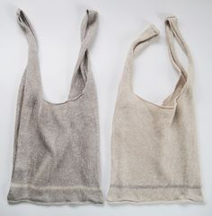 Linen Shopping Bags by Eccomin