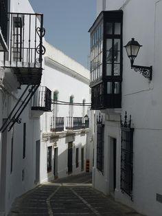 Una calle de Vejer de La Frontera