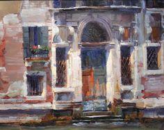 """Charles Iarrobino, """"Ramshackle Grandeur"""", 16x20, Venice. 2013"""