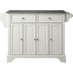 Dahlia Kitchen Island with Granite Top
