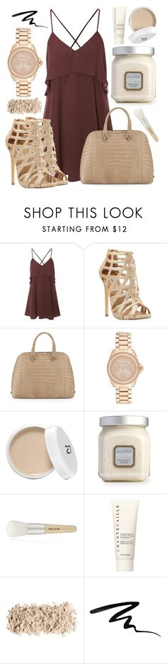 """""""#7"""" by oneandonlyfashion ❤ liked on Polyvore featuring Steve Madden, Nancy Gonzalez, Michael Kors, Laura Mercier, Paul & Joe, Chantecaille and Smashbox"""