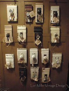Door knobs (from Round Barn Potting Company)