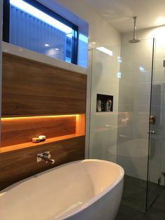 Blackbutt wall bathroom