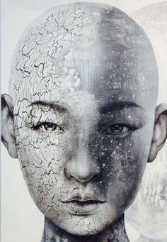 Vichit Nongnual –  Untitled Portrait 15